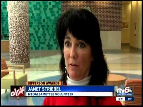 Medals4Mettle founder receives prestigious Jefferson Award