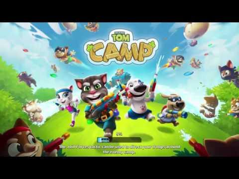 Talking Tom Camp - Лагерь Тома прохождение игры часть 4
