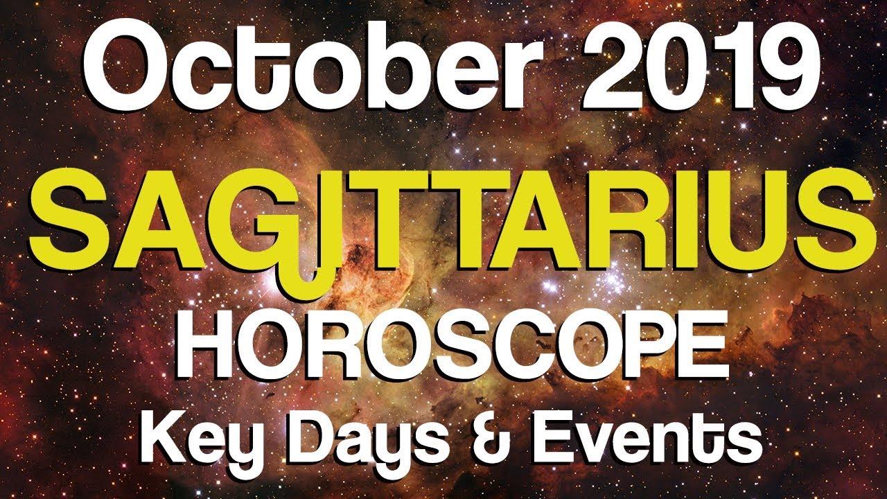 sagittarius horoscope october october october 2019