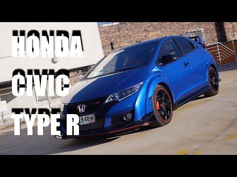 Honda Civic Type R 2016 (ENG) - Test Drive...