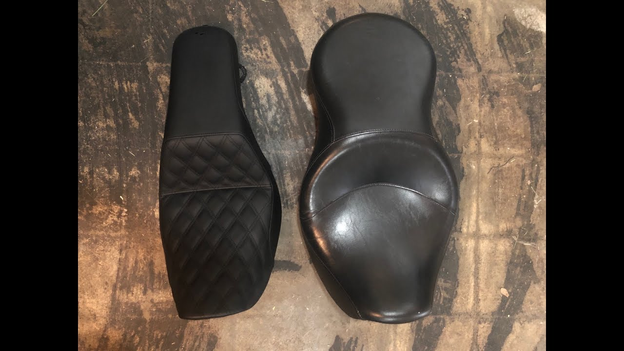 Saddlemen step up seat first ride and review/Comparison to Harley Sundowner  seat