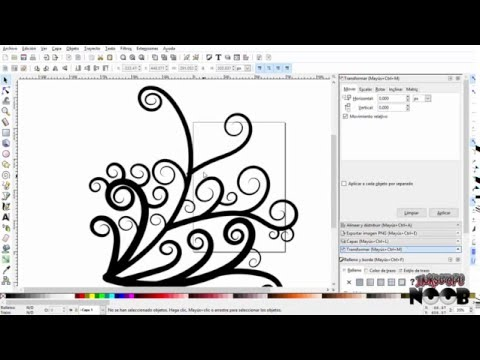 Designing decoration with inkscape
