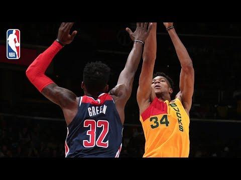 Bucks - Giannis, Bucks blow out Wizards 131-115