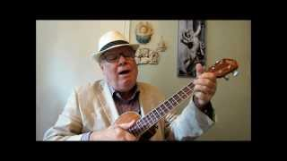 AMERICA THE BEAUTIFUL - Ukulele tutorial by Ukulele Mike Lynch for both standard tuning and baritone