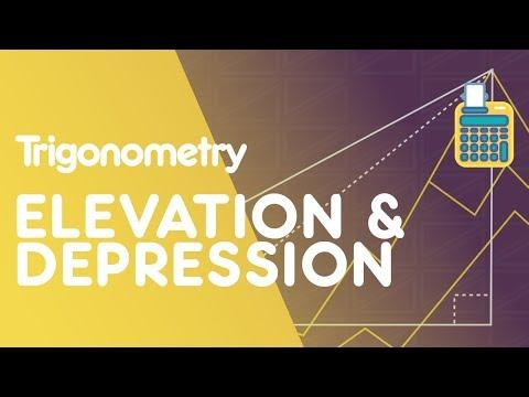 Angles Of Elevation & Depression | Trigonometry | Maths | FuseSchool thumbnail