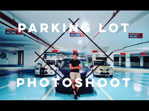⎪Parking Lot Photoshoot⎪Cinematic/Videography