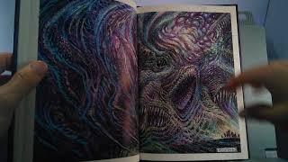 H. P. Lovecraft Bestiario ilustrado por Enrique Alcatena