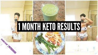 🚀1 MONTH KETO DIET WEIGHT LOSS RESULTS 🥑 WHAT I ATE TO LOSE WEIGHT