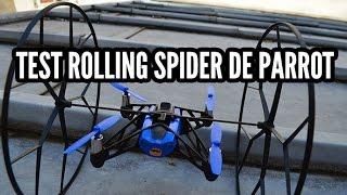 Test du mini drone Rolling Spider de Parrot
