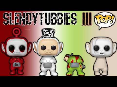 Slendytubbies POP! Vinyl