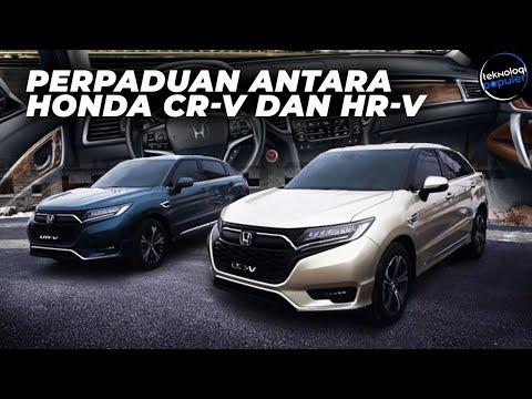 Honda Perkenalkan SUV Terbaru! Perpaduan Antara Honda CR-V Dan Honda HR-V