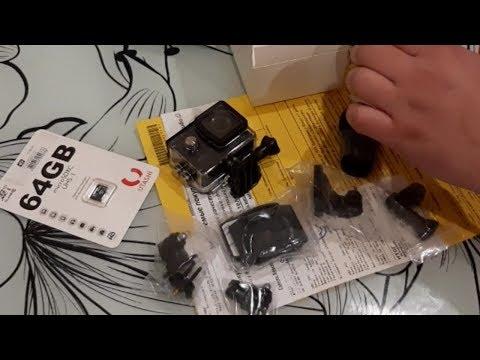 Экшн камера Sjcam SJ4000 4k C Wifi | Видео отзыв