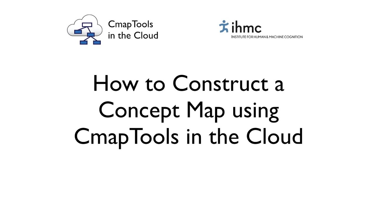 How To Construct A Concept Map.Cmaptools In The Cloud How To Construct A Concept Map Youtube