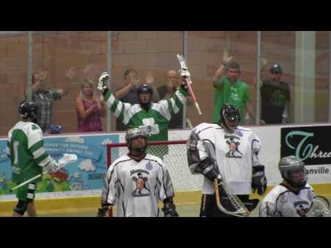 Green Gaels vs Akwesasne Indians Game 4