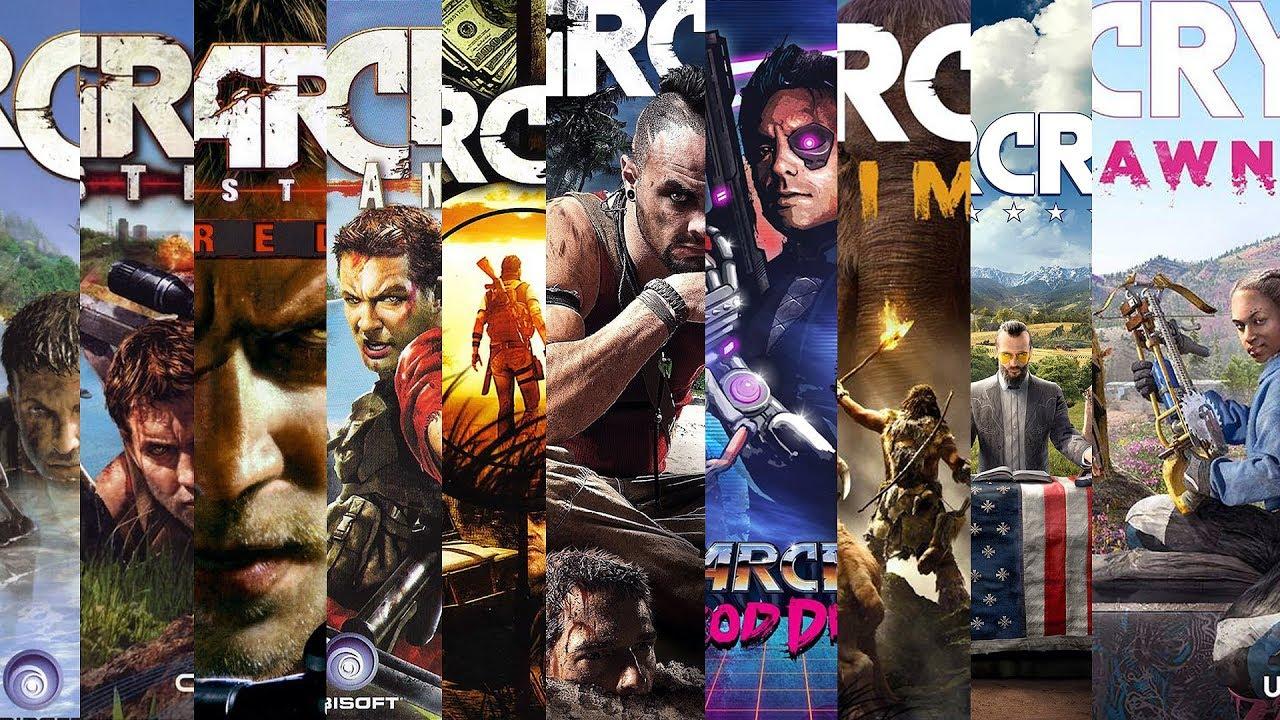 Far Cry Evolucao 2004 2019 Youtube