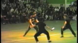Sifu Paolo Cangelosi esibizione Parigi 1988 (1 Parte)