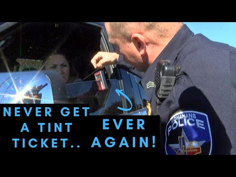How To NEVER Get A Tint Ticket Again! - Maknificent12