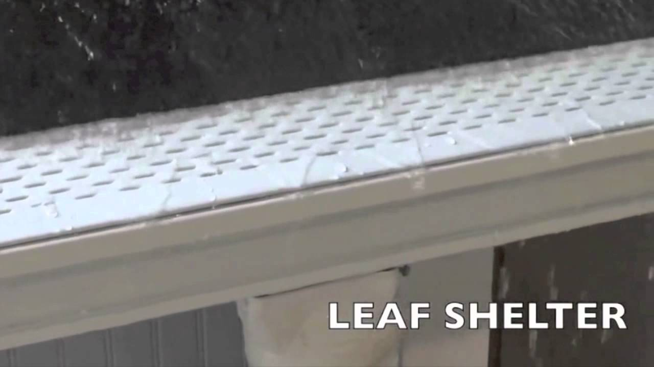 Flodoctor Gutter Guard Vs Leaf Shelter Gutter Guard Youtube