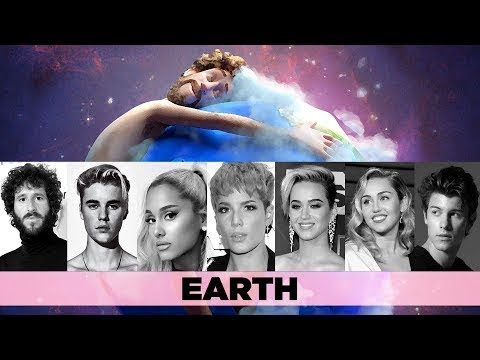 earth by lil dicky with photo and name of the singers with lyrics music video in 20. Black Bedroom Furniture Sets. Home Design Ideas