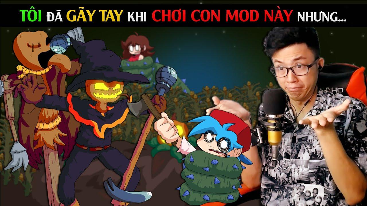 TÔI GÃY TAY KHI CHƠI CON MOD NÀY NHƯNG / Friday Night Funkin Zardy HD / SpiderGaming 202