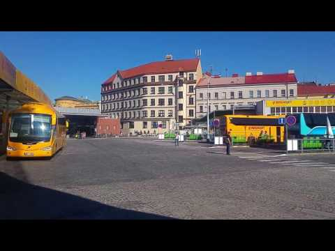 Florenc Prague, main bus terminal in the city