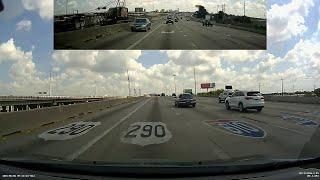 Houston Dashcam: I-10 to 610 to US 290