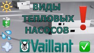 Типы тепловых насосов Vaillant geoTHERM(Оборудование Вайлант по оптовым ценам!! Если найдете дешевле, мы сделаем предложение еще лучше! Наш сайт:..., 2016-06-03T20:38:39.000Z)