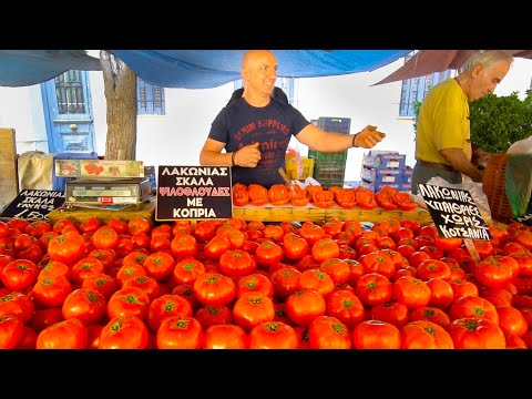 Greece Street Food - ATHENS BEST STREET FOOD GUIDE!! CRAZY Greek Food tour in Greece!