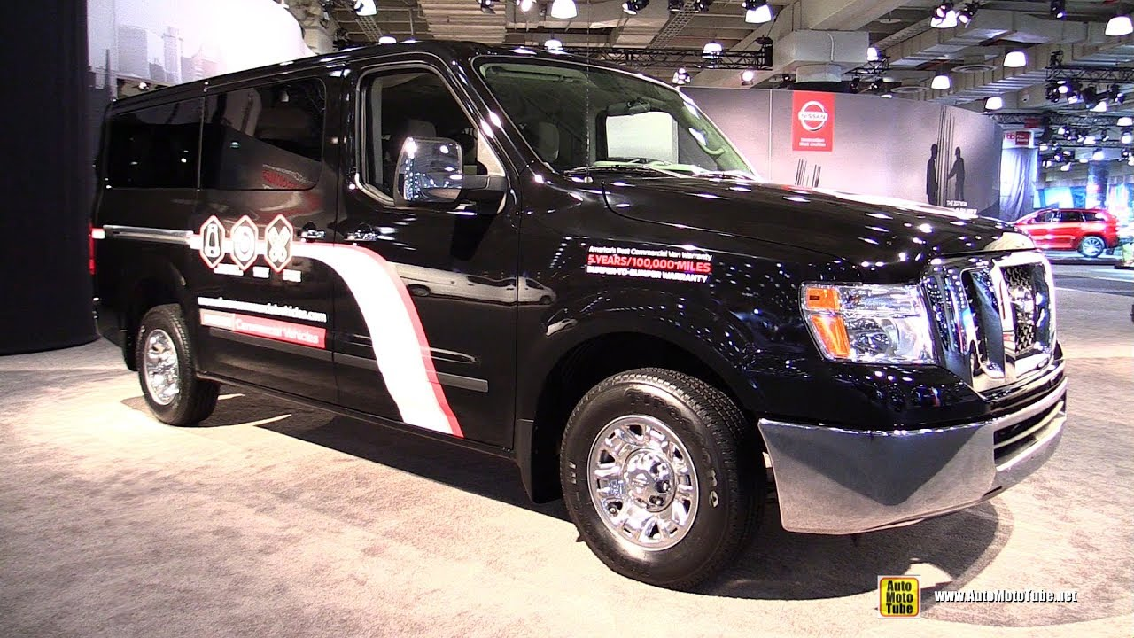 2017 Nissan Nv 3500 Hd Sv Exterior And Interior Walkaround 2017