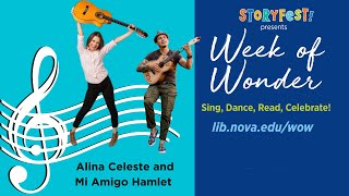 StoryFest presents Week of Wonder: Alina Celeste + Mi Amigo Hamlet: Being Bilingual Rocks  Concert