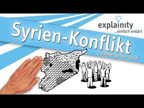 Syrien-Konflikt, Jan. 2018 - einfach erklärt (explainity® Erklärvideo)