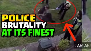 POLICE BRUTALITY AT ITS FINEST