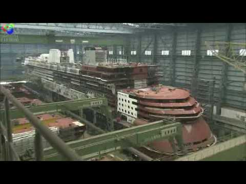 Disney Dream Construction Video YouTube - Is disney building a new cruise ship