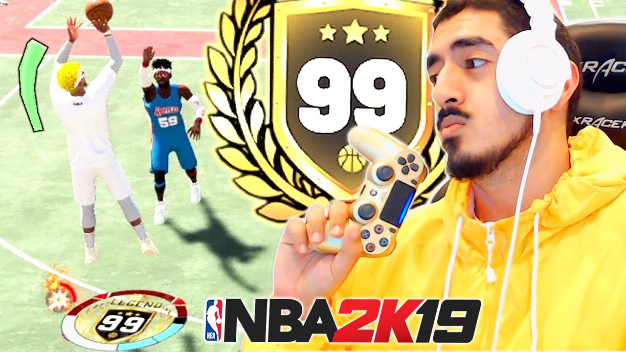 Download NBA 2K19 is too easy for me at 99 overall...