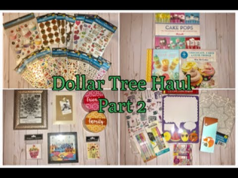 Dollar Tree Haul Part 2-Back to School Items and Lots of New Finds!