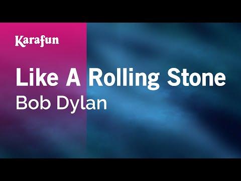 Karaoke Like A Rolling Stone - Bob Dylan *