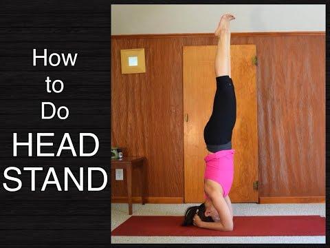 How to Do Headstand (Sirsasana) Yoga Pose Tutorial