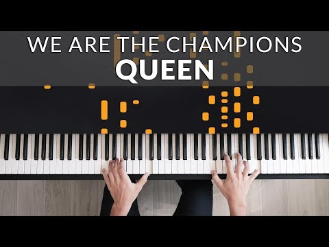 Queen - We Are The Champions | Francesco Parrino Piano Cover Tutorial