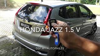 Honda Jazz (Fit) 1.5V Sights and Sounds