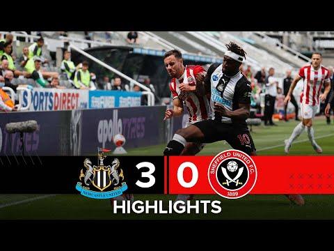 Newcastle United 3-0 Sheffield United | Premier League highlights