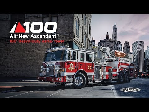 All-New Ascendant® 100' Heavy-Duty Aerial Tower