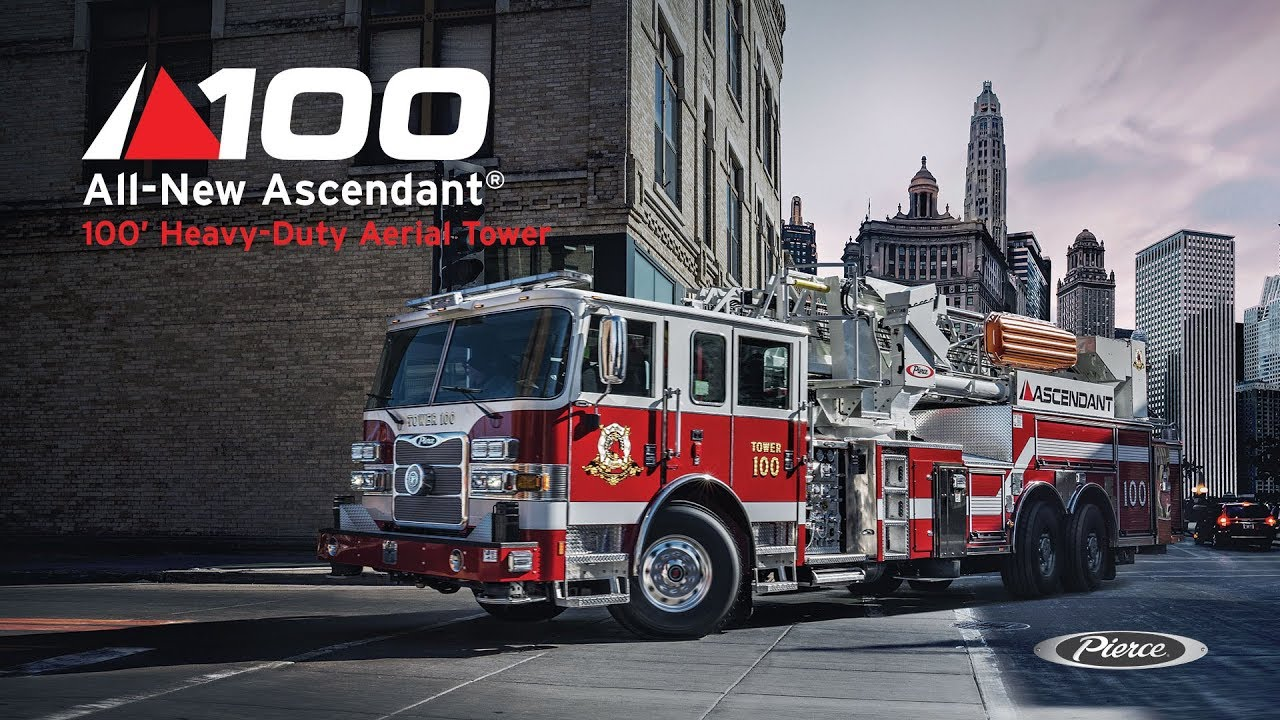 All-New Ascendant® 100' Heavy-Duty Aerial Tower - YouTube