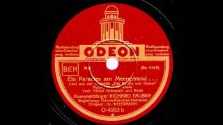 Ein Paradies am Meeresstrand... / Richard Tauber mit dem Odeon-Künstler-Orchester