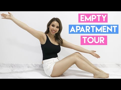 I Moved to Singapore  + Empty Apartment Tour! Tina Yong