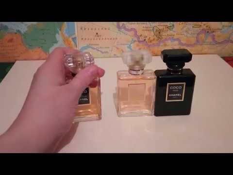 Моя парфюмерия Шанель.