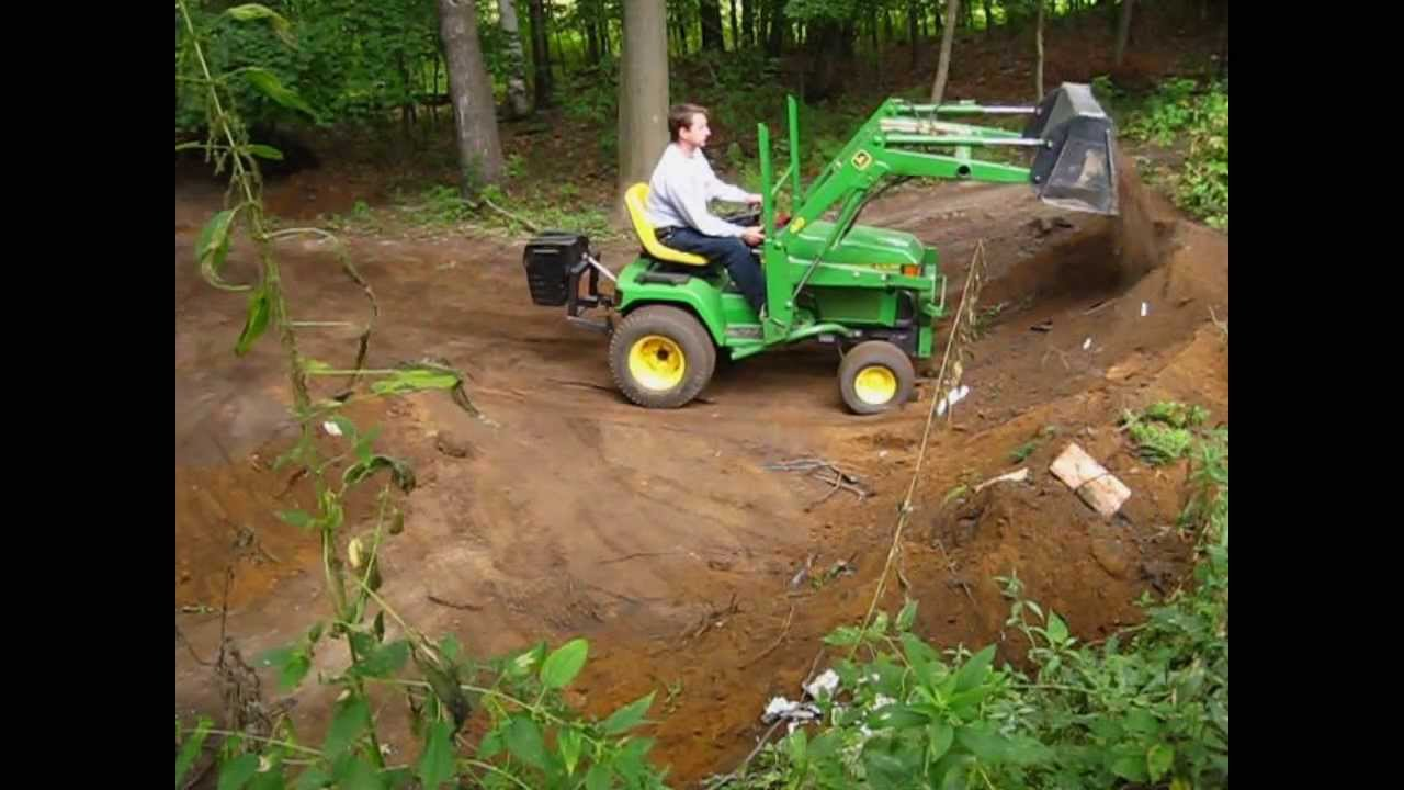 John Deere Lawn Tractor Wiring John Deere 455 With Loader Youtube