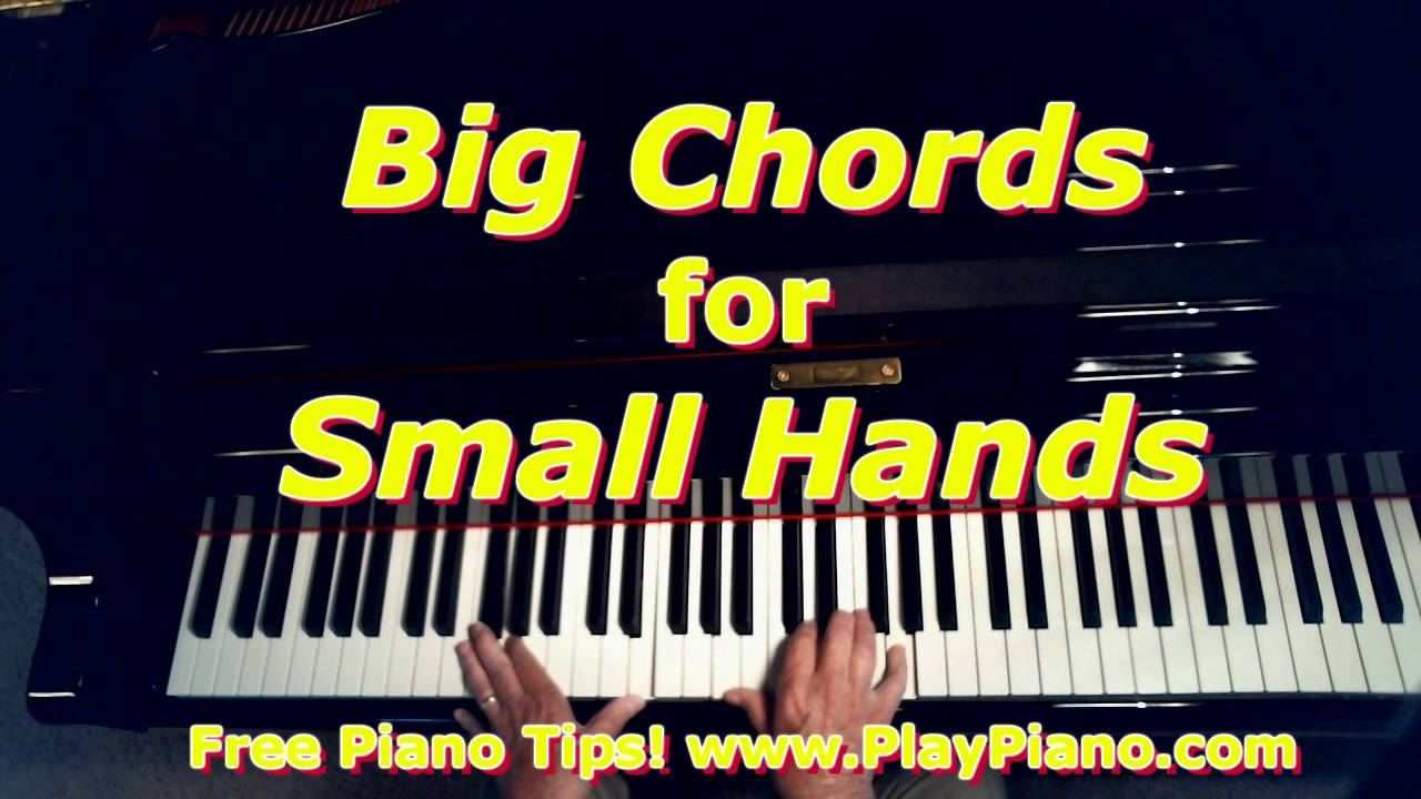 How to create big chords with small hands youtube how to create big chords with small hands hexwebz Images