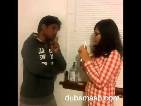 Kumari 21F, chocolate kavala Telugu dubsmash video