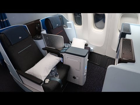 KLM Boeing 777 Business Class from Tanzania to Amsterdam (GREAT experience)