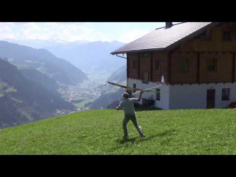 Alpines Segelfliegen im Großarltal